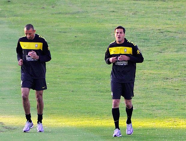 Julio Cesar treino seleção brasileira