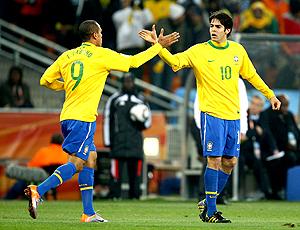 Desde os tempos de São Paulo... Kaká e Luis Fabiano exaltam parceria ... 9befe0c7dad91