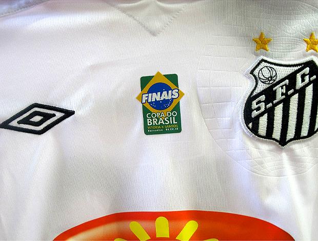 c3e115d67f Santos usará camisa personalizada na final da Copa do Brasil ...