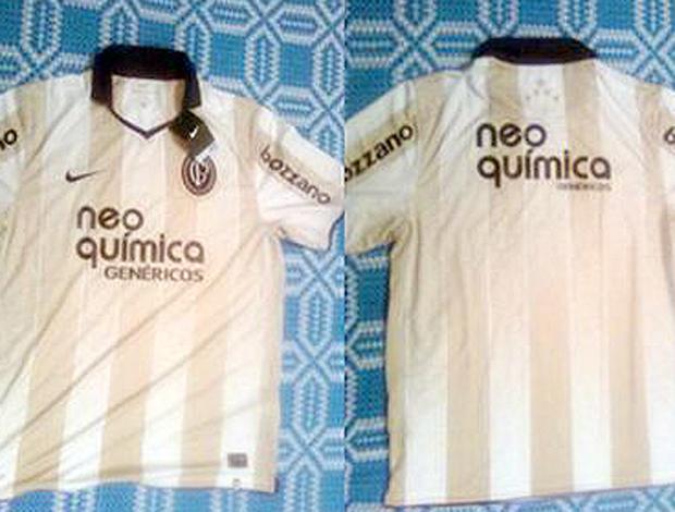 91c3cfb90b Camisa do centenário corintiano será bege e branca