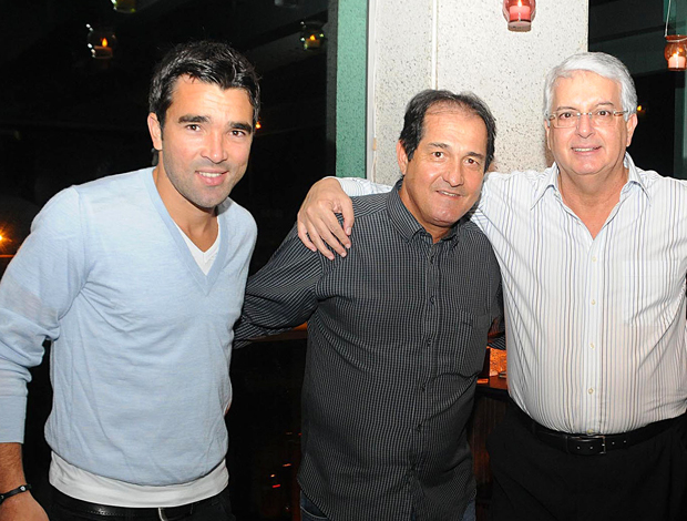 Deco,Muricy e Celso Barros