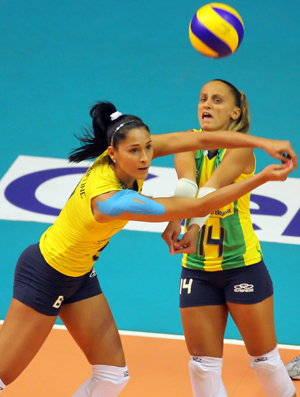 Vôlei Brasil x Itália Grand Prix Jaqueline Fabi
