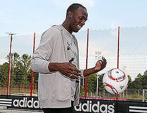 Usain Bolt no Bayern de Munique 1456fe2be4d02