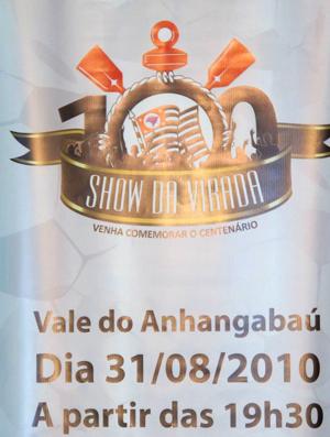 5fe3f7c4ae Show da Virada e Abraço Fiel marcarão centenário do Timão ...