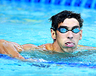 Phelps volta às piscinas de olho nas Olimpíadas (agência Reuters)