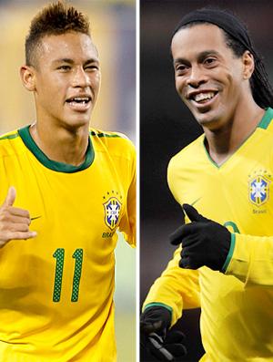 Mano Convoca Ronaldinho Gaucho E Neymar Para Jogo Contra A Argentina Globoesporte Com
