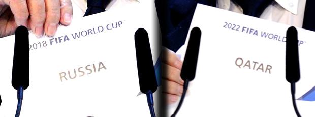 chamada Copa Rússia Qatar FIFA