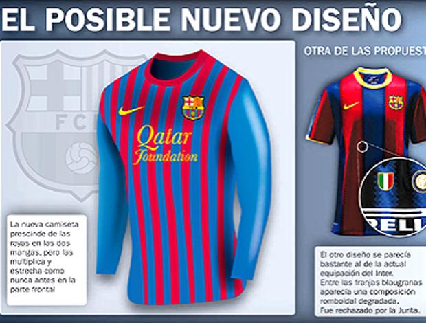 d66d682695 Barcelona terá camisa reserva preta pela primeira vez na história ...