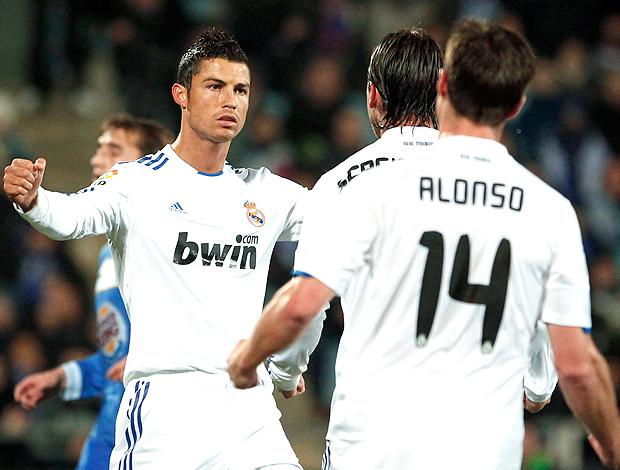Cristiano Ronaldo, comemoração, Real Madrid