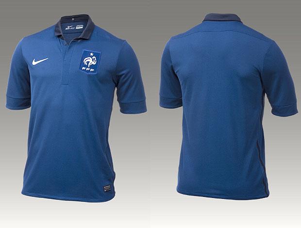 nova camisa seleção da França 7d41aa58834ae