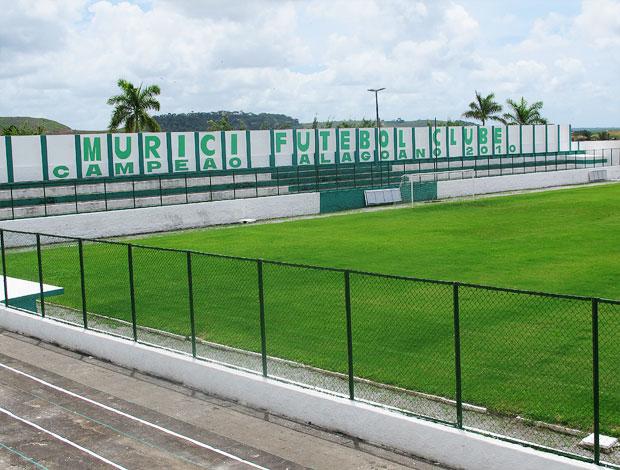 Estádio José Gomes, em Murici, é liberado para jogos do Alagoano - Globo.com