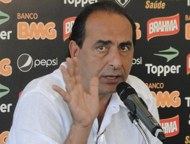 Alexandre Kalil, presidente do Atlético-MG (Foto: Marco Antônio Astoni / Globoesporte.com)
