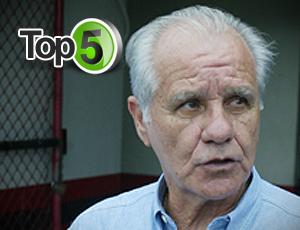 608b47d906 top 5 evaristo de macedo (Foto  Editoria de Arte GLOBOESPORTE.COM) No Brasil  ...