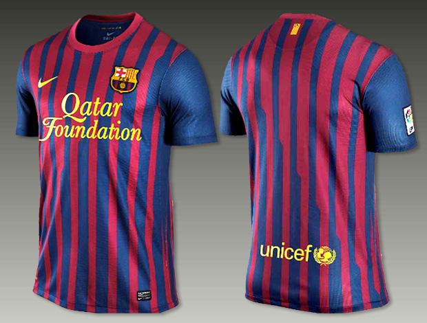 nova camisa do barcelona (Foto  Divulgação) e865d0cb1287a