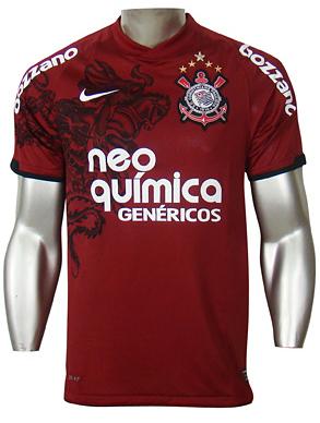 4a36a7fd00633 Terceiro uniforme do Corinthians é grená e homenageia o Torino ...
