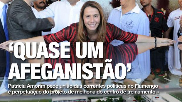 CHAMADA CARROSSEL - Patricia Amorim Flamengo (Foto: Alexandre Vidal / Fla Imagem)