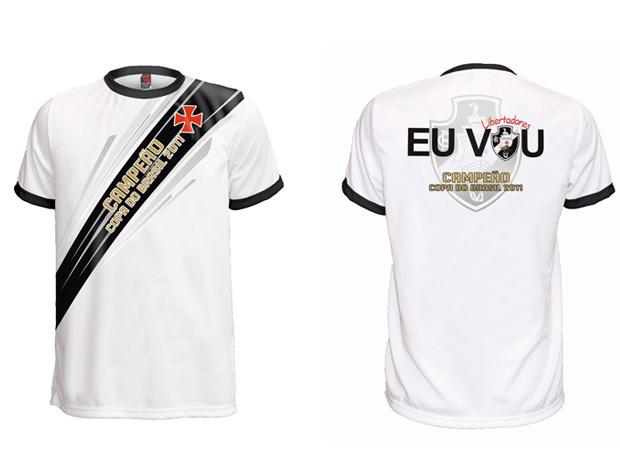 abae5d42ee Camisa Vasco Campeão (Foto  Reprodução)