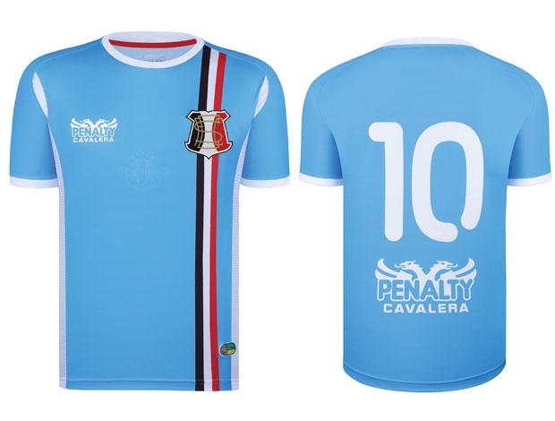6483a529e5 nova camisa do Santa Cruz (Foto  Divulgação)