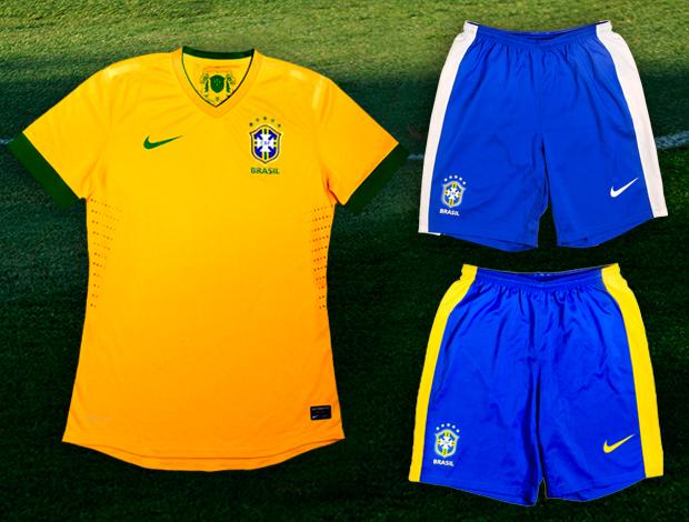 d4869a9e4f Brasil já tem uniforme para buscar em Londres ouro inédito no ...