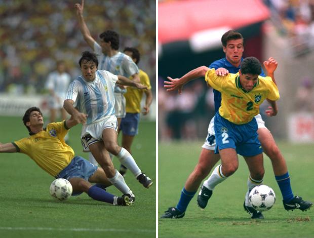 Jorginho 1990 e 1994 (Foto: Getty Images)