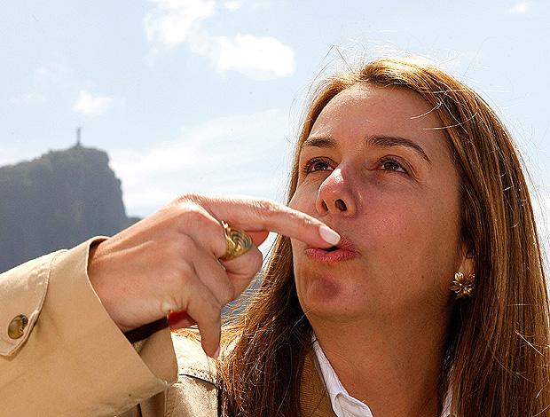patricia amorim flamengo especial (Foto: Marcelo de Jesus / GLOBOESPORTE.COM)