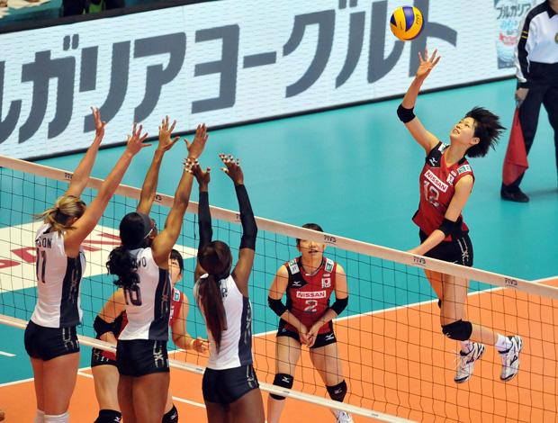 vôlei kimura japão USA copa do mundo (Foto: FIVB)