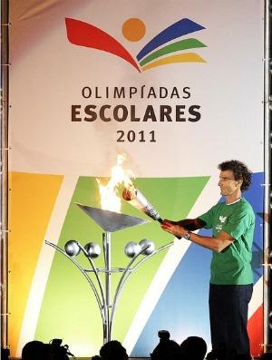 Cerimônia de abertura das Olimpíadas Escolares encanta público em Curitiba 44eccf11b7acc