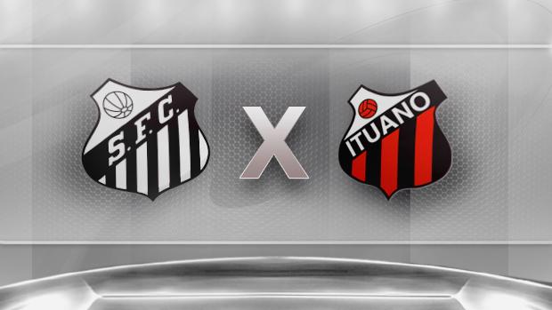 Santos x Ituano (Final do Paulista)   JOGO DURO 7d10ced45b117