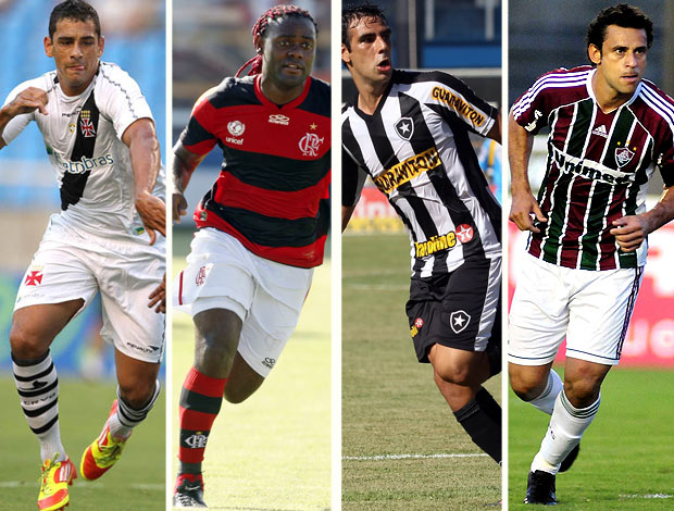 Semifinais com quatro grandes é algo incomum no Rio nos últimos anos. Dos  últimos 17 turnos do Campeonato Carioca a034dbf35811b