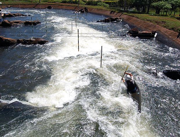 Dupla mato-grossense disputa o Sul-Americano de Canoagem Slalom - Globo.com