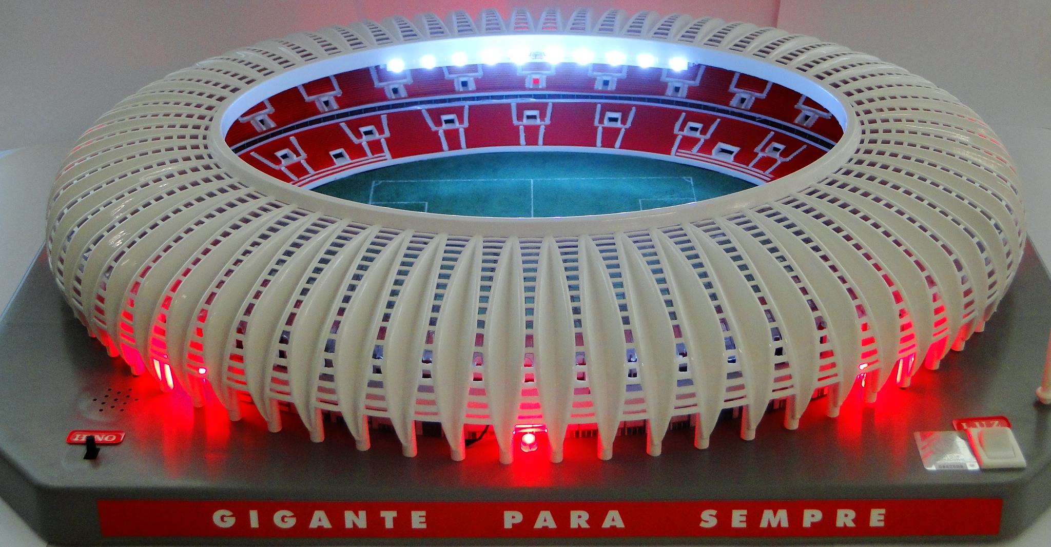 Departamento de marketing do Inter lança miniatura do novo ...