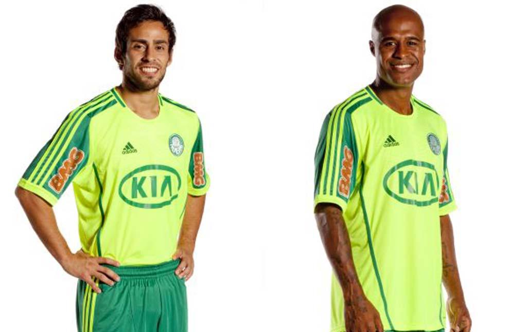 Palmeiras lança nova camisa 4 e volta a adotar a cor verde limão ... 58413a6d986ac