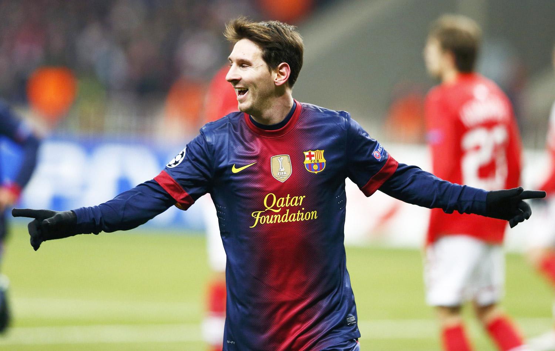 Messi marca duas vezes 394cf7084236c