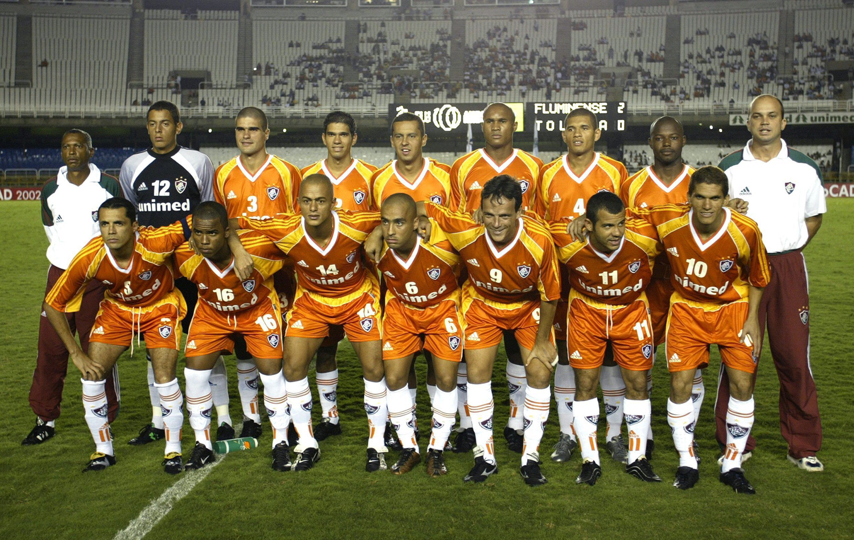 Curtinha  novo terceiro uniforme do Fluminense será na cor laranja ... 19b6db579e3bc
