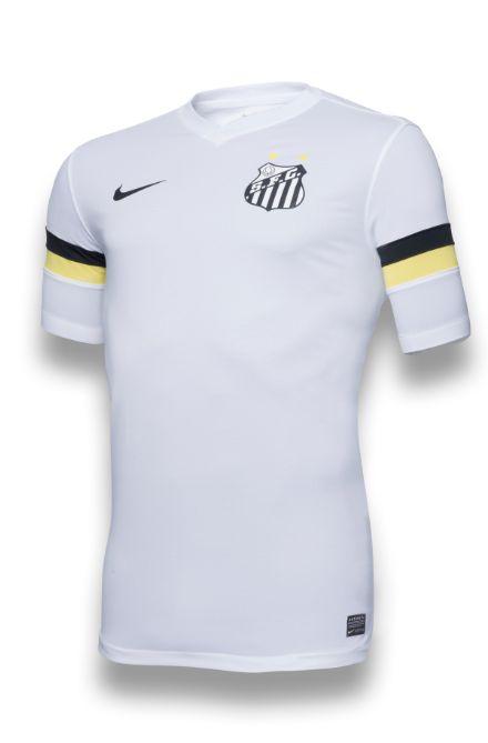 Santos lança nova camisa branca 836f9b0796a6b