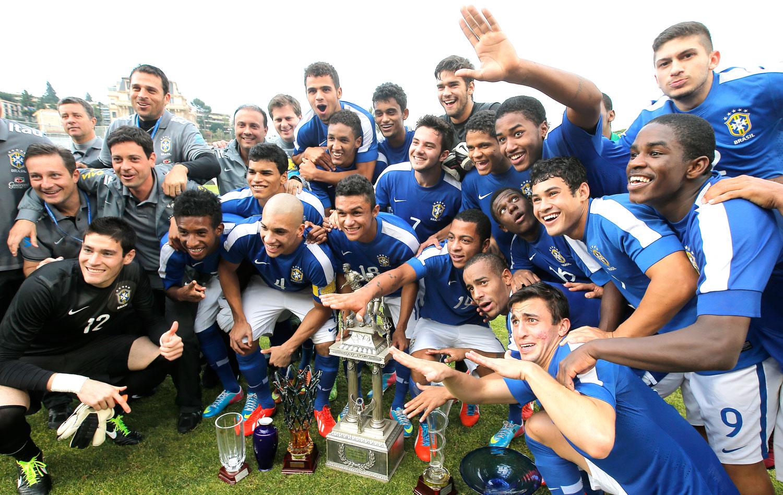 701011b7ed100 Sub-20  Brasil vence a Colômbia e conquista hepta do Torneio de Toulon