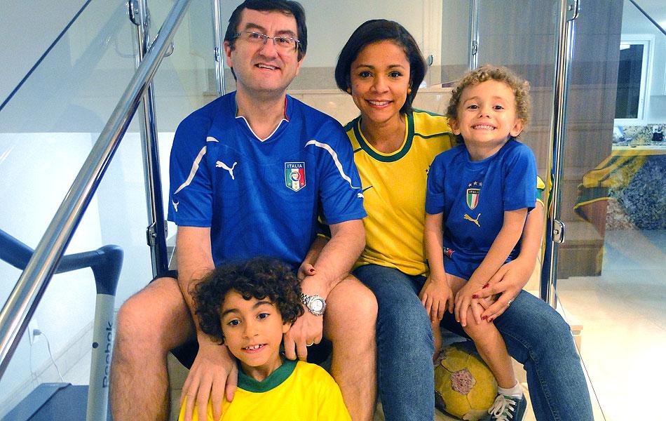 Famílias ítalo-brasileiras se dividem na torcida à distância em Belo  Horizonte  f440f1124dc79