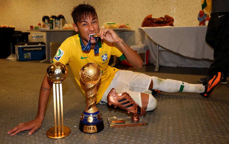 f4fd3aa7b6471 Dono de seis prêmios, Neymar revela saudações dos colegas de Barça |  globoesporte.com