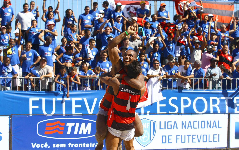 Flamengo é campeão da terceira etapa da Liga Nacional de Futevôlei ... 7aa06e6d065a6