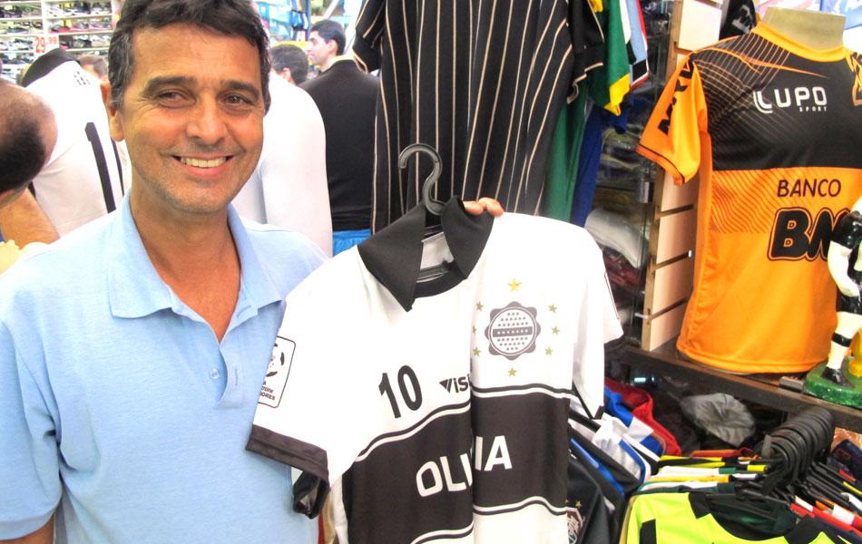 Uniforme para a  secação   camisa do Olimpia vende aos montes em BH ... 36cbd846ff8ec