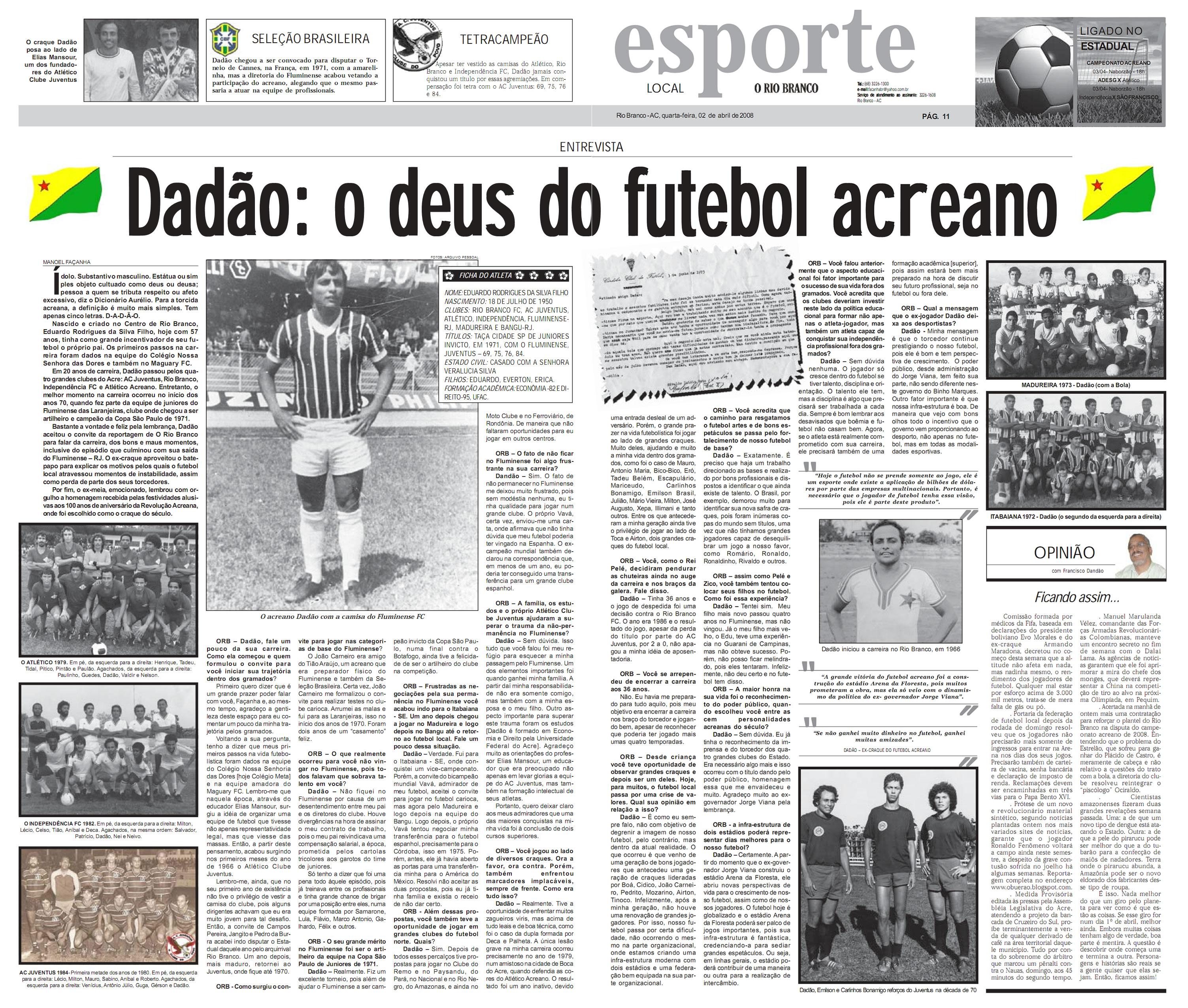 Cronistas esportivos escrevem livro sobre história do futebol acreano  2371cbea2f39d