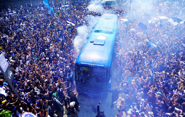 Borges revela empolgação do time com multidão em volta do ...