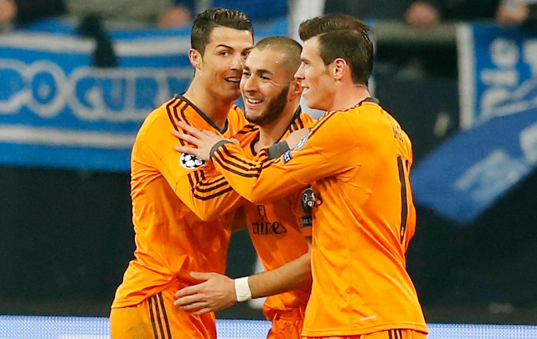 Grande fase! Trio  BBC  do Real tem mais gols do que 14 times do ... 1ec4f83c7b95f