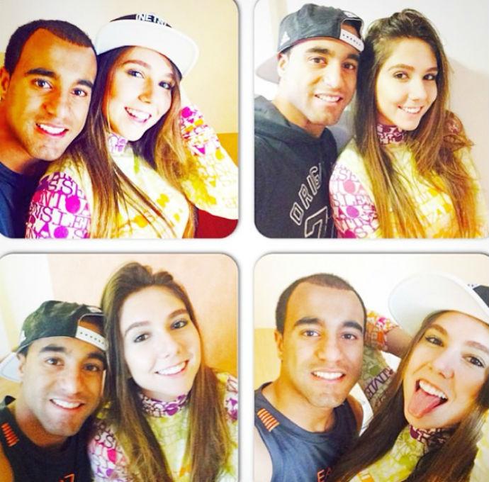 """Lucas Moura Wife Instagram: Carol Portaluppi Posta Foto Com Lucas, Do PSG: """"Amigo Mais"""