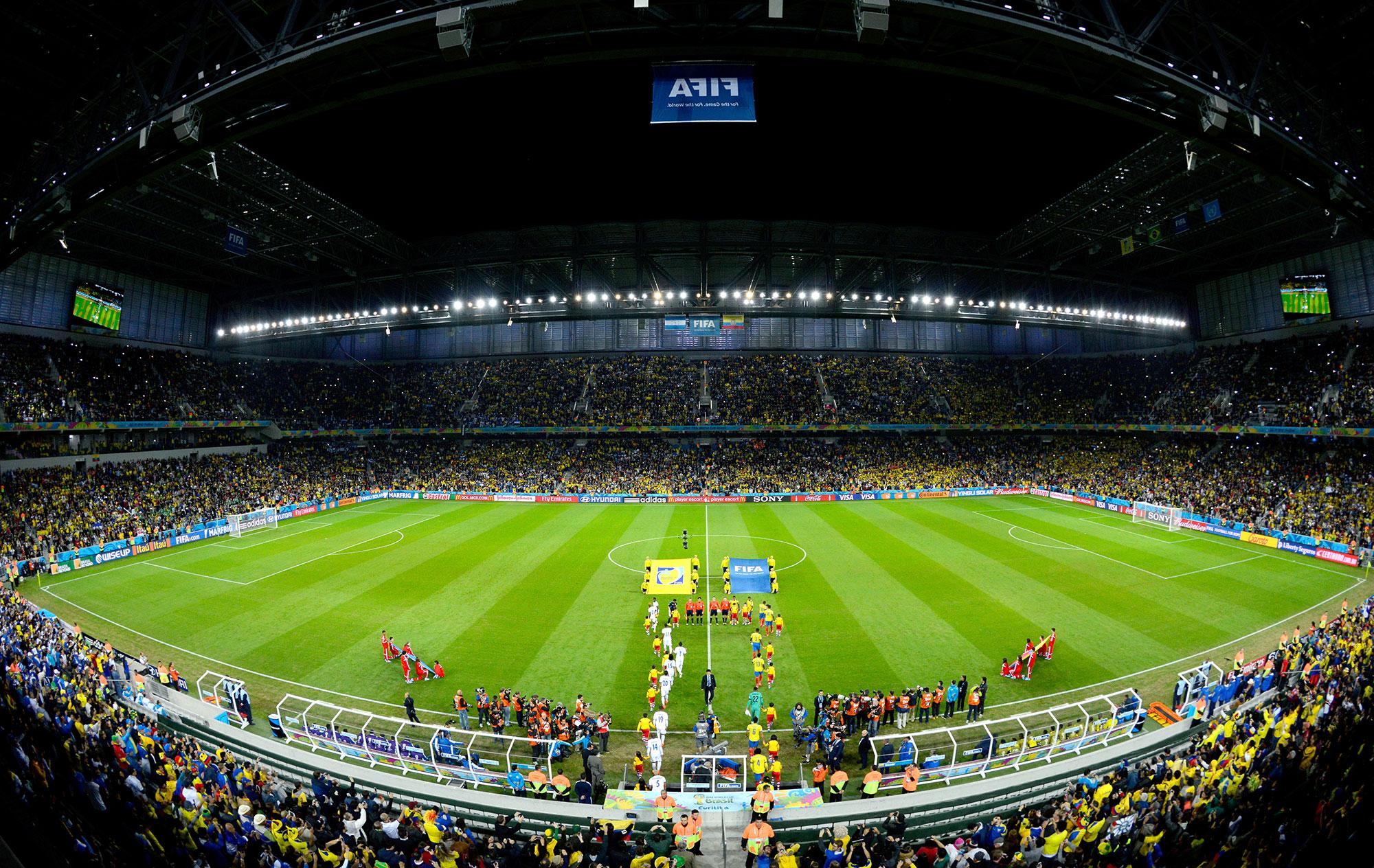 Plurais, estádios do Paranaense vão dos 43 mil aos 3,5 mil torcedores - Globo.com