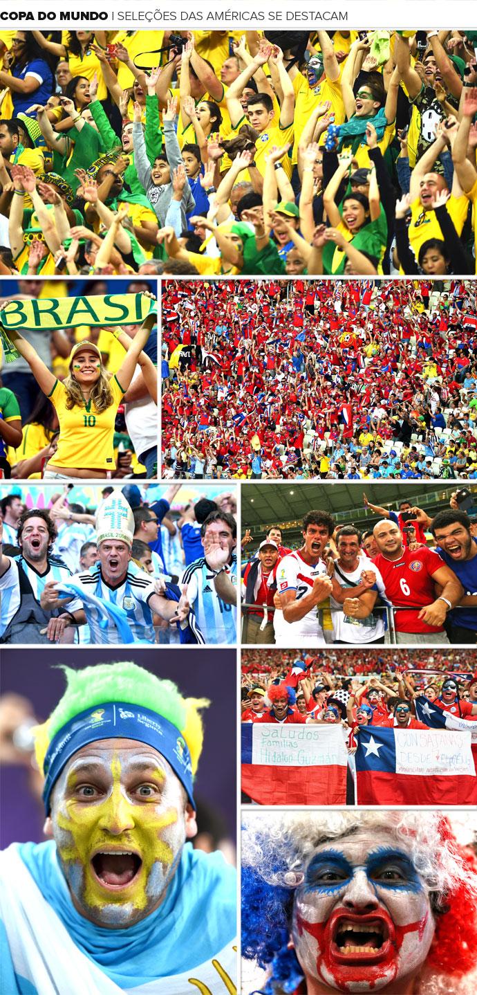 efced7b1b2 Copa América  Continente pode ter maioria inédita nas oitavas de final