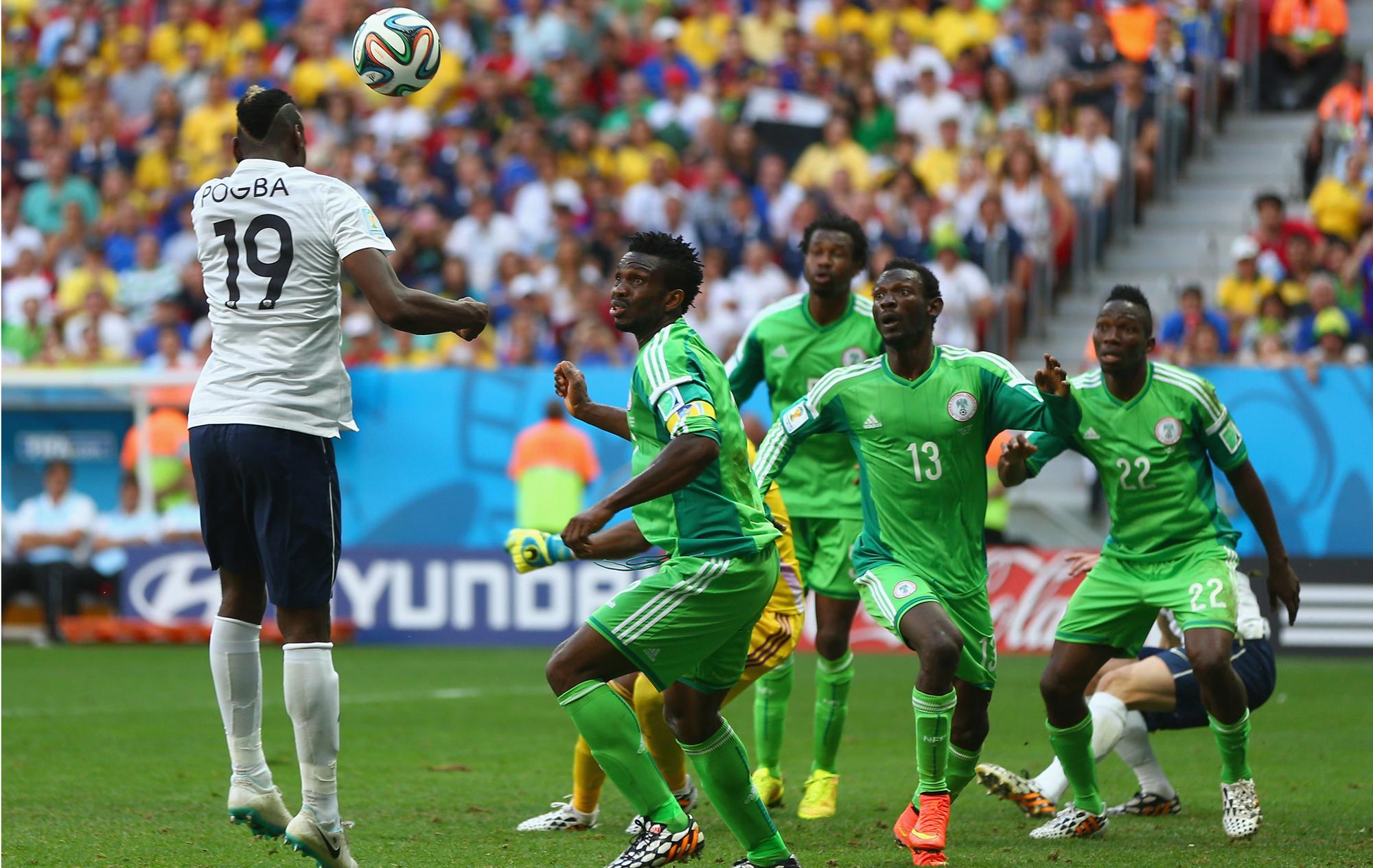Fantasma à vista  França elimina Nigéria e está nas quartas de final ... 20456f3ee9f3b