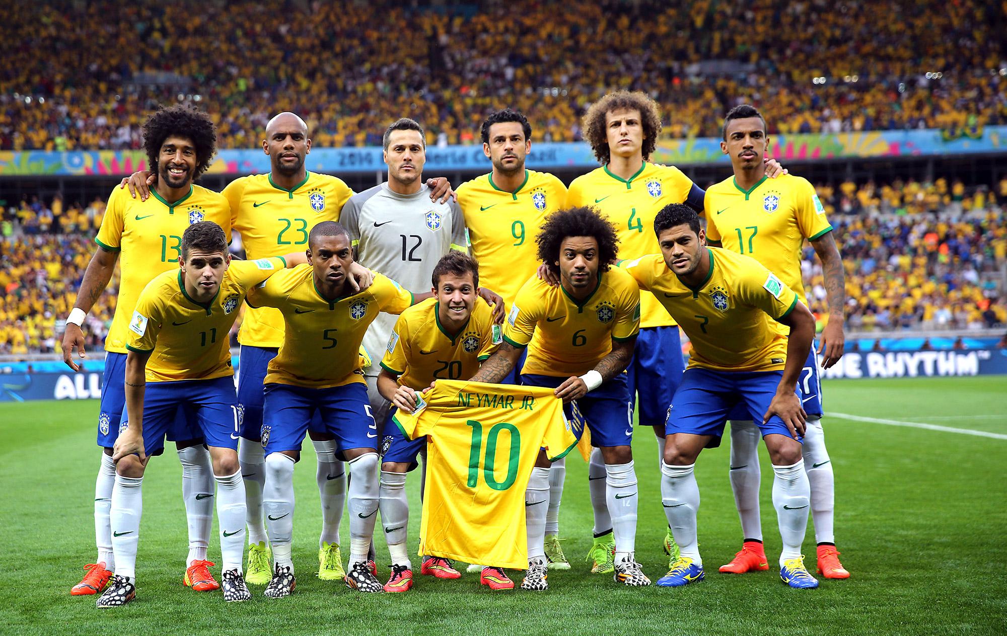 Valor da seleção brasileira cai mais de R  60 milhões após o Mundial ... eb435ec5536db