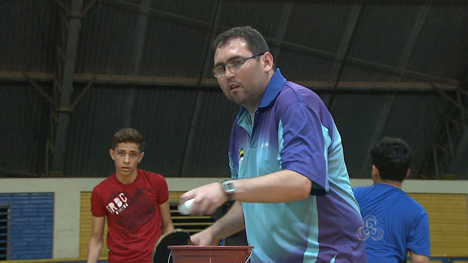 7c5c58534 Técnico da seleção paulista de tênis de mesa comanda treino no Acre ...
