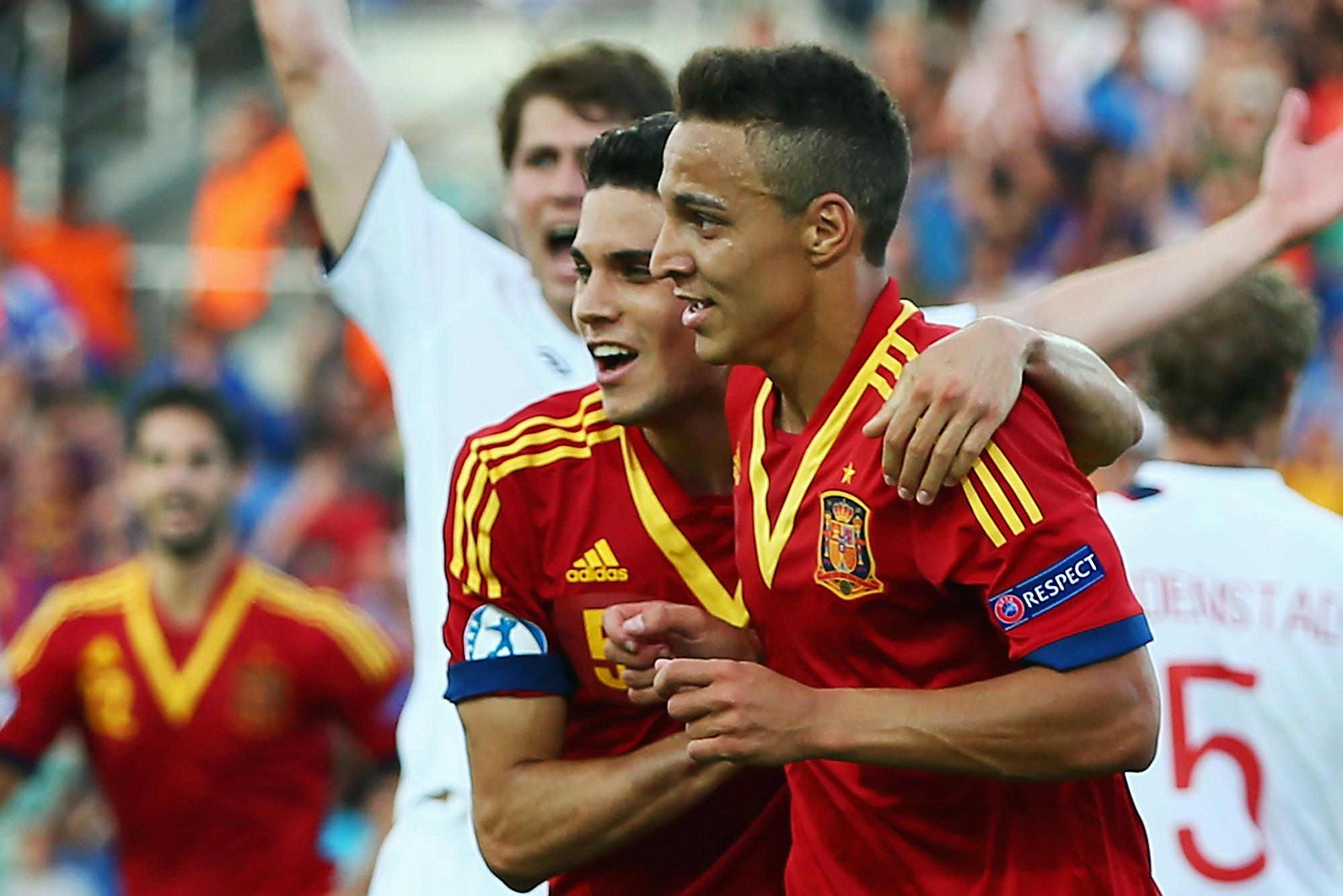 Ex-Fla explica opção do filho Rodrigo pela seleção espanhola
